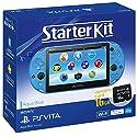 PlayStaiton Vita本体 スターターキット アクア・ブルーの商品画像