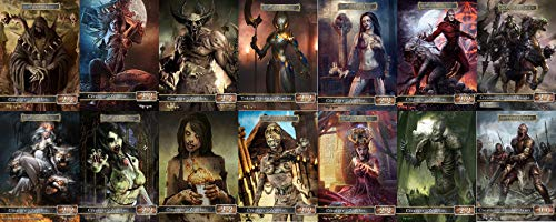 Zombie Token - GnD Cards Full Set of Zombie Tokens MTG