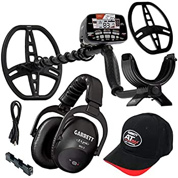 Garrett at Max Metal Detector with Z-Lynk Wireless Headphone Plus Accessories