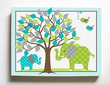 amazon com whimsical elephant lovebirds garden checkerboard