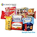 KOREAN SNACK BOX_Assorted Package_Popular Authentic Korean Brand Snacks_Perfect for GIFT_18 Packs