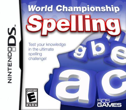 World Championship Spelling - Nintendo DS (Championships Nintendo World)