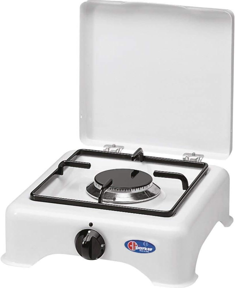 Hornillo de mesa Parker 1 fuego alimentación gas GLP (gas en ...
