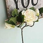 Xuanhemen-Gardenia-Silk-Cloth-Artificial-Flowers-Real-look-Wedding-Home-Dcoration-Decoration