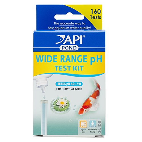 - API POND WIDE RANGE pH TEST KIT 160-Test Pond Water Test Kit