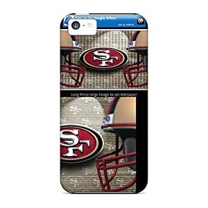 TimJames Premium Protective Hard Case For Iphone 5c- Nice Design - San Francisco 49ers