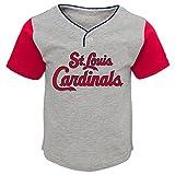 MLB  St. Louis Cardinals Toddler Boys Batting Practice Short Set-4T