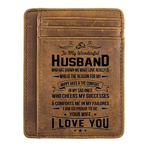 Buy gifts for your husband