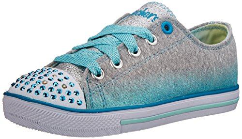 Skechers Bambini Twinkle Toes Chit Chat Light-Up Merletti
