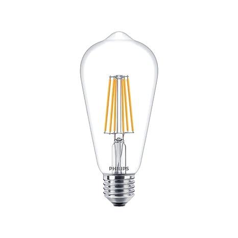 Philips CLA LEDBulb DT 8-60W ST64 E27 CL 60W E27 A+ Blanco cálido -
