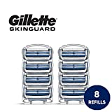 Gillette SkinGuard Men's Razor Blades for Sensitive Skin - 8 Refills