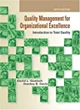 Quality Management for Organizational Excellence 9780135019672