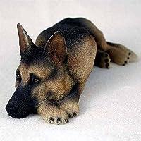 Conceptos de conversación German Shepherd Tan & Black My Dog Figurine