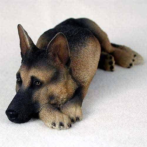 Conversation Concepts German Shepherd Tan & Black My Dog Figurine ()