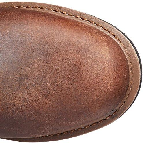 John Deere Mens 8-inch Boerderij Nst Lu Werkschoen Bruin