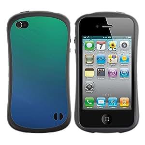 Suave TPU GEL Carcasa Funda Silicona Blando Estuche Caso de protección (para) Apple Iphone 4 / 4S / CECELL Phone case / / Simple Pattern 39 /