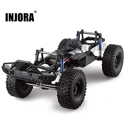 Assembled Frame Chassis for 1/10 RC Crawler SCX10 II 90046 90047,SCX10 II Upgrades(with Wheels) (Chassis Frame)