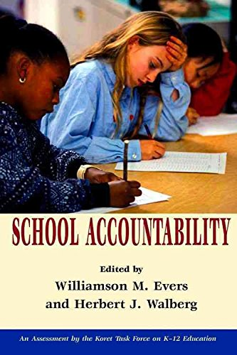 Read Online [School Accountability] (By: Williamson Evers) [published: May, 2002] pdf epub