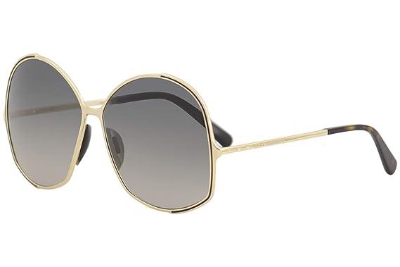 a0ec4b0cea75 Amazon.com: Marc Jacobs Marc Jacobs 621/S 0KS6 Gold Black DX dark ...