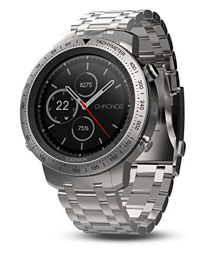 Garmin Fenix Chronos Brushed Stainless