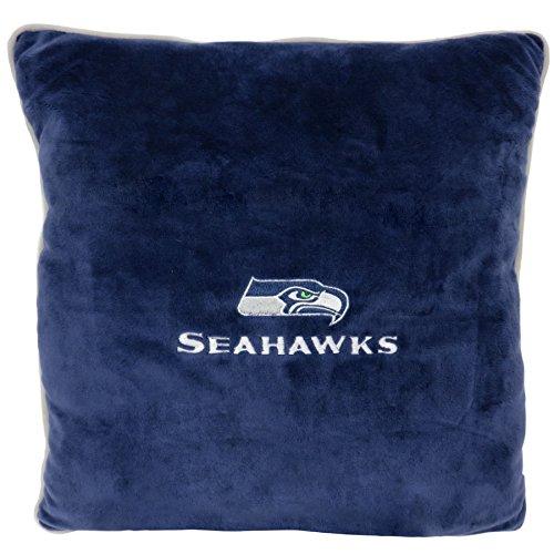 - NFL Seattle Seahawks Soft & Cozy Dog Pillow. Plush & Comfortable Pet Pillow.