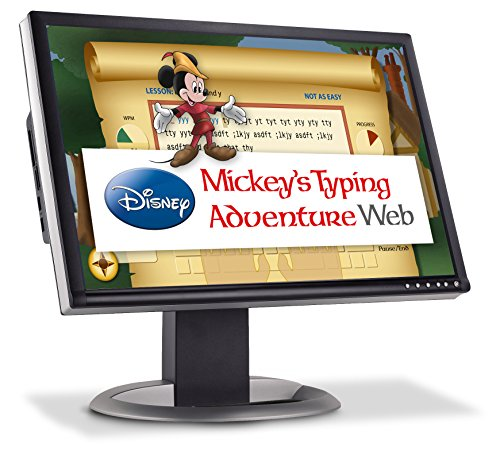 Disney Mickey's Typing Adventure Web 1-month (Mickey Mouse Computer Game)