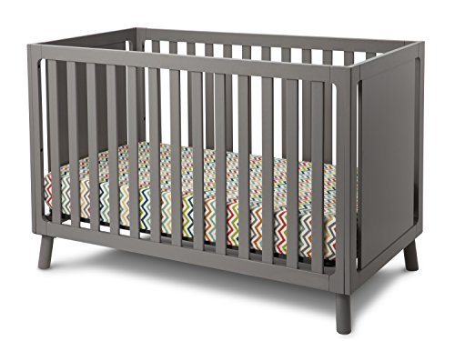 Delta Children Manhattan 3 In 1 Crib Grey