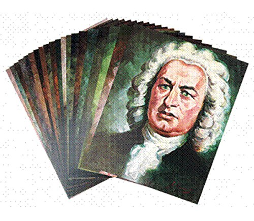 UPC 029156218466, Portraits of Great Composers: Set 1 (Classical Composers), 20 Posters & Booklet