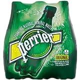 PERRIER Sparkling Mineral Water, 16.9 Fl Oz., (2 Cases of 24 Bottles)