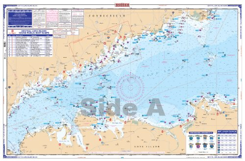 Waterproof Charts, Coastal Fishing, 26F Central Long Island Sound
