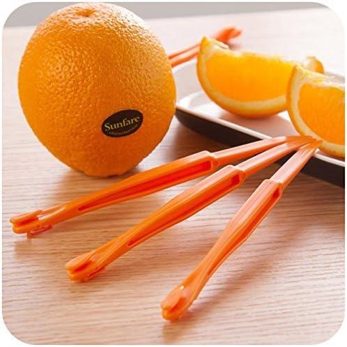 Pelador de naranjas – 2 piezas/Lote creativo sección larga pelador de naranja Peel naranja compacto y práctico ayudante: Amazon.com.mx: Hogar y Cocina