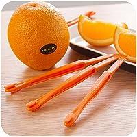 Orange Peeler - 2 Pieces/Lot Creative Long Section Orange Peeler Peel Orange Compact and Practical Helper