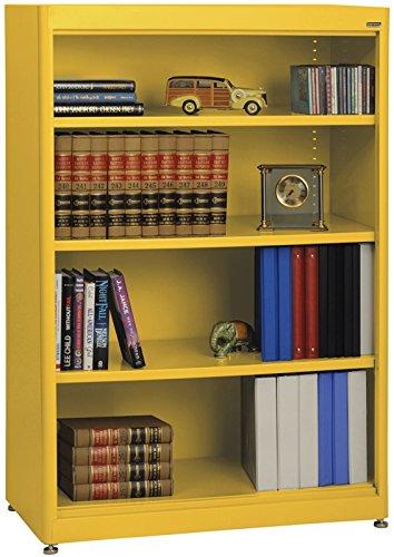 Sandusky Lee BA3R361852-EY Elite Series Radius Edge Welded Bookcase, 18