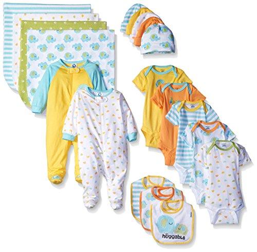 Gerber Baby Unisex' 19 Piece Baby Essentials Gift Set ...
