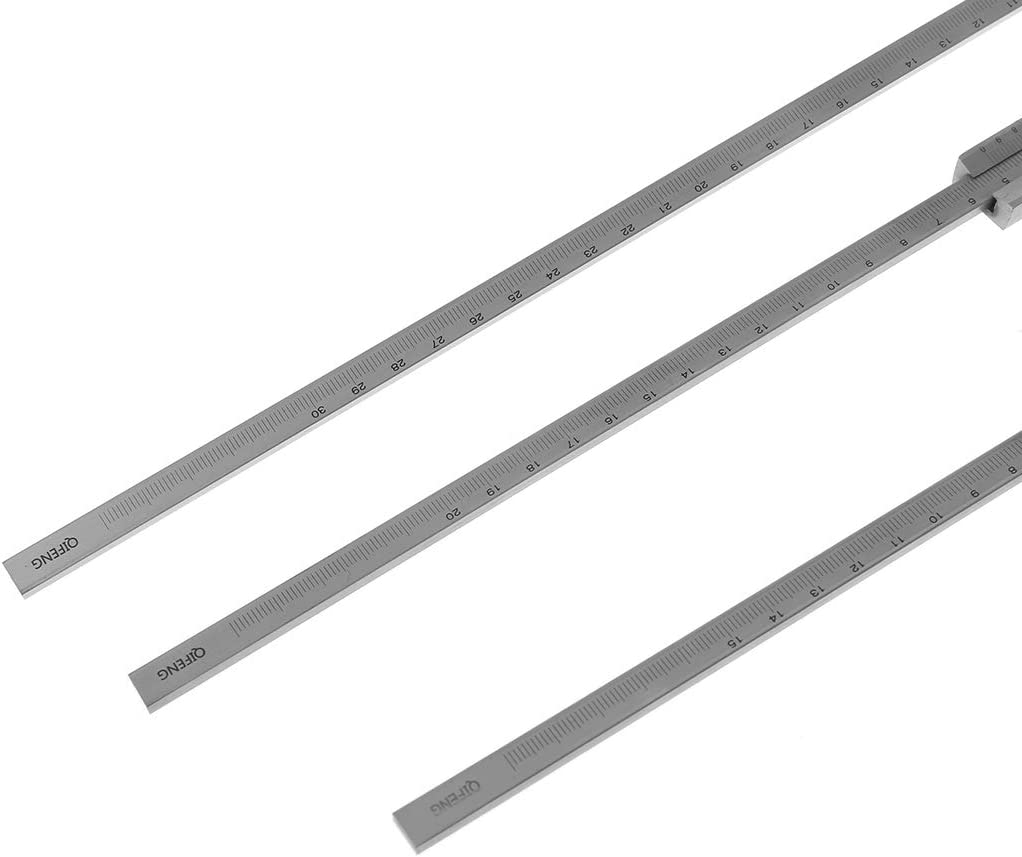 0-150 mm 200//300 mm 0,02 mm Tiefenmessschieber Genauigkeit