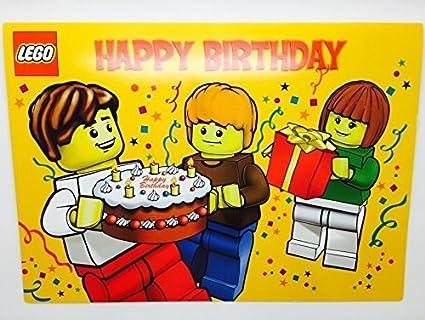 Amazon Lego Pop Up Birthday Card Toys Games