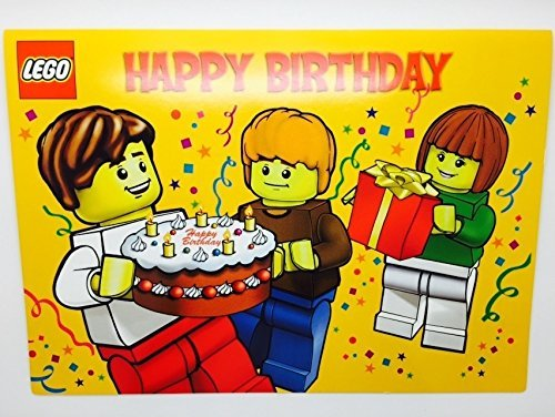 Amazon LEGO Popup Birthday Card Toys Games – Lego Birthday Card