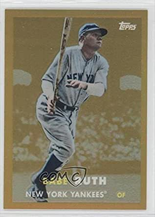 Babe Ruth Gold Baseball Card One Direction Concert Tickets 2018 Usa