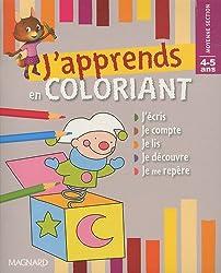 J'apprends en coloriant Moyenne Section 4-5 ans