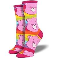 Socksmith Womens Care Bears Characters Novelty Crew Socks