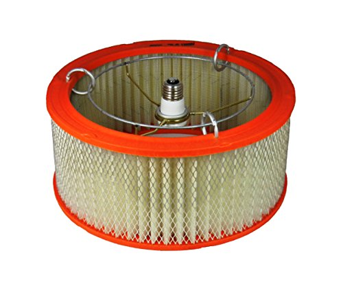 Ceiling Light Auto Air Filter Shade for Garage or Basement D