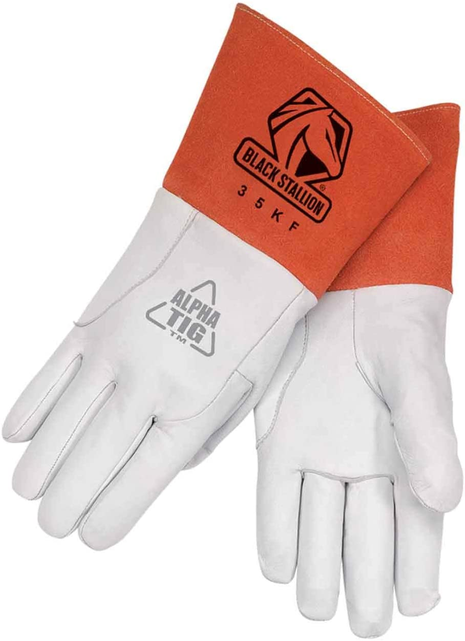 Premium Leather TIG Welding Gloves X-Large Pair