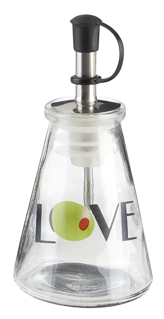 Olive You!' Glass LOVE Oil Bottle in Signature Tuscan Box - Total 48 sets