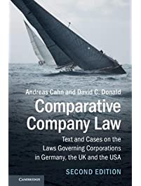 Amazon business law books comparative company law text and cases on the laws governing corporations in germany the fandeluxe Images
