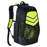 vapor bat bag - Nike Vapor Power Backpack Black/Volt