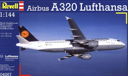 (Revell Germany Airbus A320 Lufthansa Model Kit)