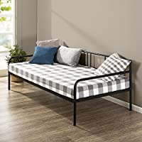Zinus 39 Inch Sophia Twin Daybed Frame / Premium Steel Slat Support