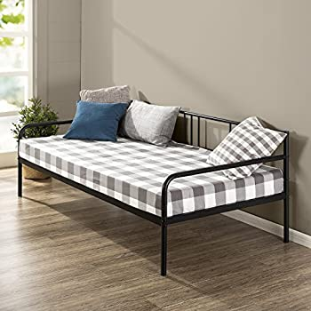 Amazon Com Zinus Quick Lock Twin Day Bed Frame With Steel