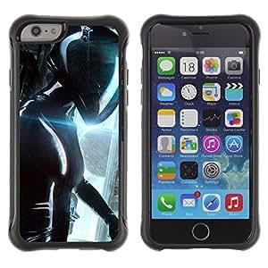 Pulsar Defender Series Tpu silicona Carcasa Funda Case para Apple iPhone 6(4.7 inches) , Path to helicn Future