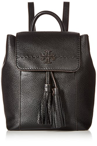 Tory Burch Women's Mcgraw Backpack, Black, One Size from Tory Burch